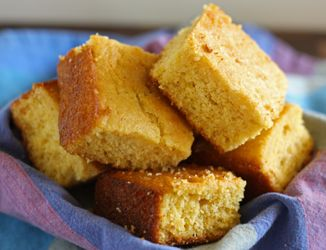 Gluten free cornbread recipe. Looks easy enough for weeknight dinner with crock pot chili.