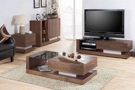 Walnut Black Glass Coffee Table Jf613ct Wooden Coffee Table Storage Oak Furnitureinfashion Uk Goruntuler Ile Ev Dekoru Ahsap Isleri Mobilya
