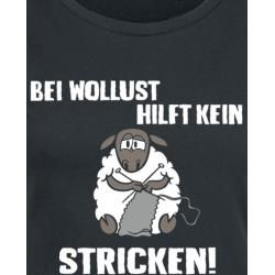 Photo of Bei Lust hilft kein Stricken T-ShirtEmp.de