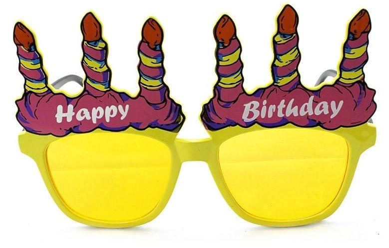 Her zevke göre parti gözlüğü var