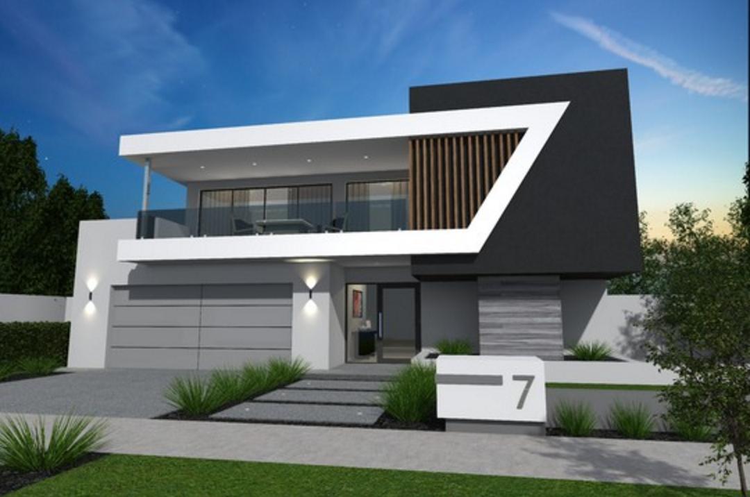 Armadale house 2 un ejemplo de simpleza y belleza con for Fachadas de casas rojas modernas