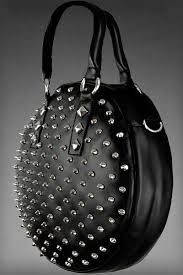 699447000d5 restyle    big round bag with spikes