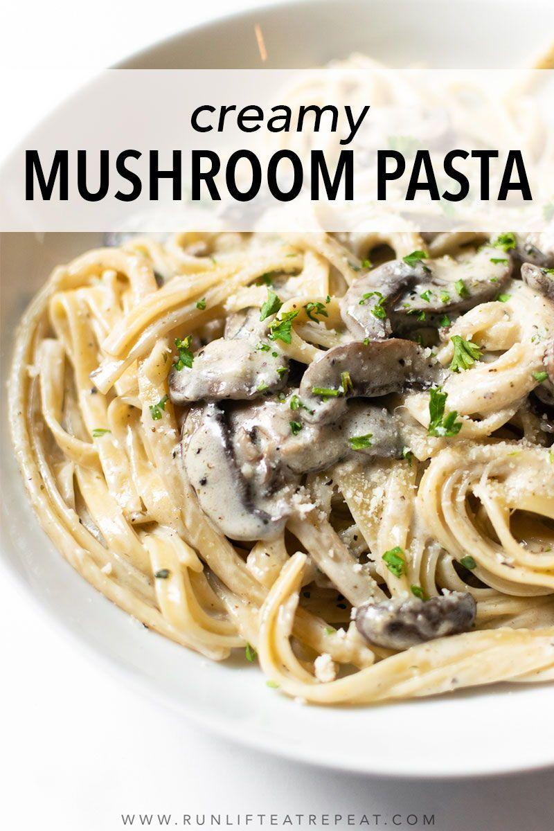 Creamy Mushroom Pasta Recipe Mushroom Pasta Creamy Mushroom Pasta Pasta Recipes