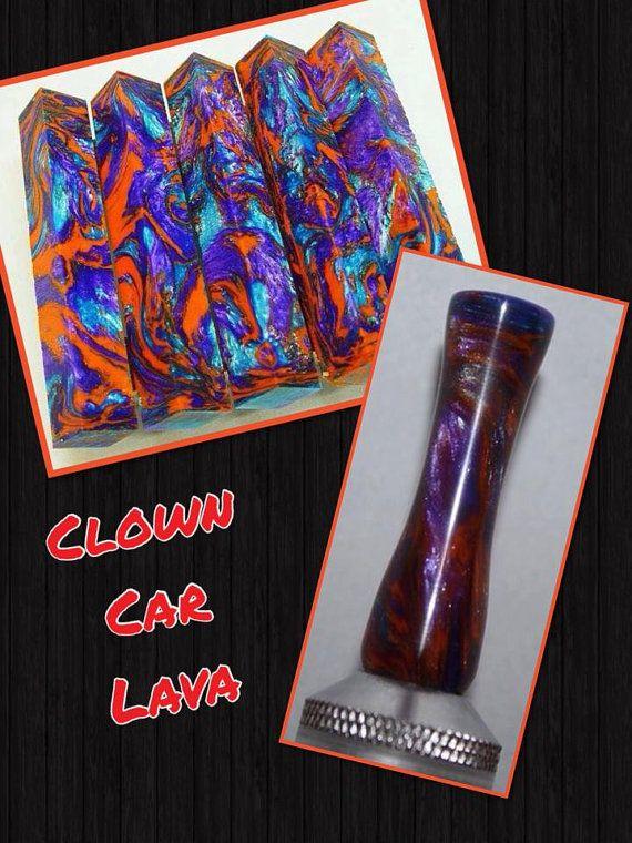 Clown Car Lava by AngelsHeavenlyDesign on Etsy, $25.00