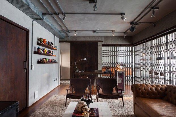 O estilo industrial d o tom neste apartamento de 147 m for Muebles paulo