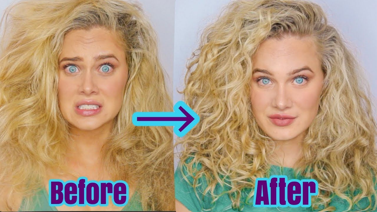 BIG WAVY/CURLY HAIR VOLUME & DEFINITION for fine hair