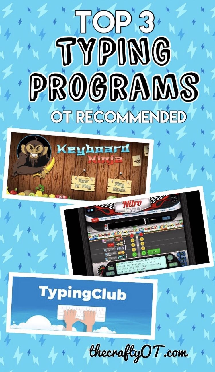 Top 3 Typing Programs | Occupational Therapy | Typing programs for