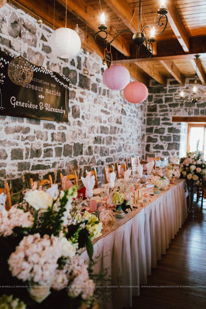 Table Of Honour Wedding D Honneur Rustic Chic