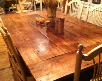 Reclaimed Wood Table top New Jersey 42 x 72 Farm Table Top Dining