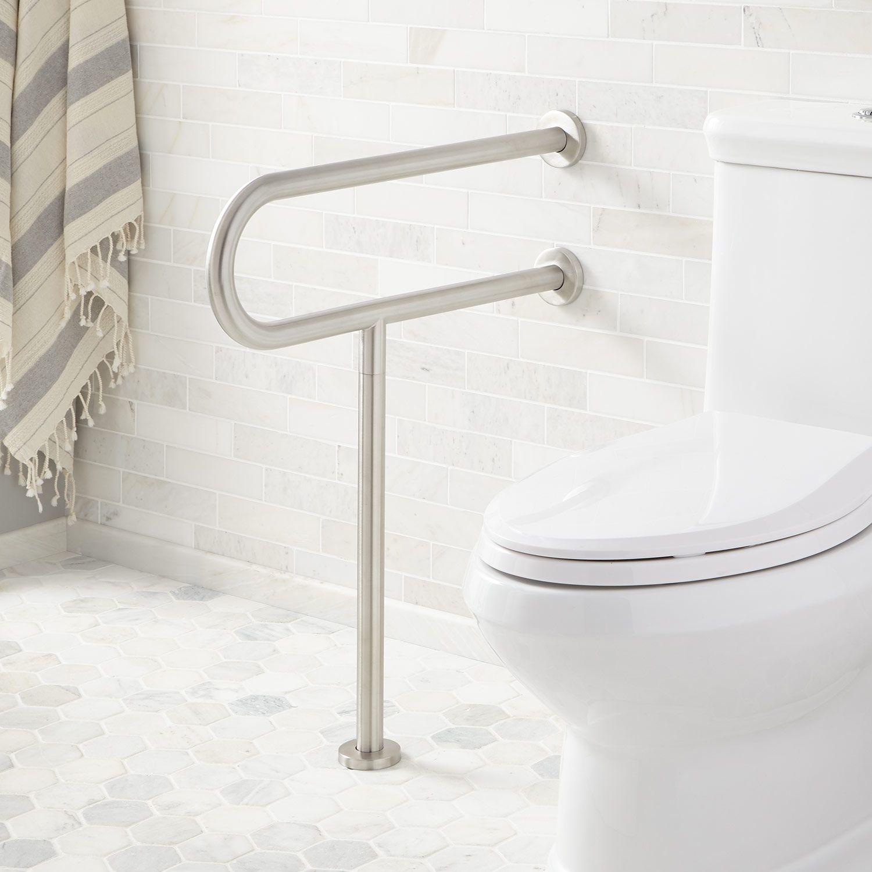 Pickens T Shape Grab Bar Grab Bars Bathroom Accessories