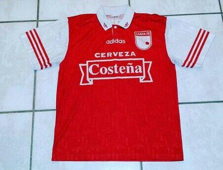 cfb59898654a Rare Vintage ADIDAS Independiente Santa Fe Colombia 1996 Soccer Jersey   jerseys independientesantafe colombia soccer futbol football ebay ebayseller
