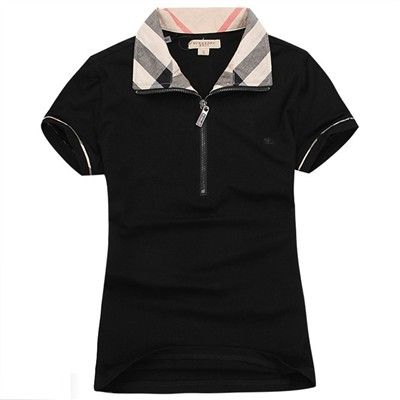 ae7d4802 Women Burberry M-XXL Lapel T-Shirt - 0048 | Womens golf | Burberry ...