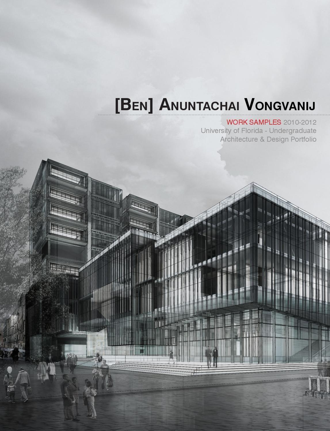 architecture design portfolio examples. Architecture Portfolio -Vongvanij. IdeasPortfolio DesignUniversity Design Examples