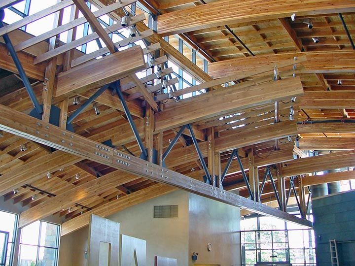 Western Wood Structures Inc Glulam Products And Services Timber Structure Building Stone Structure Architecture