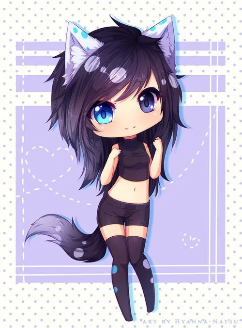 Chibi Anime Cat Girl : chibi, anime, Chibi, Anime, Girls, Wallpapers