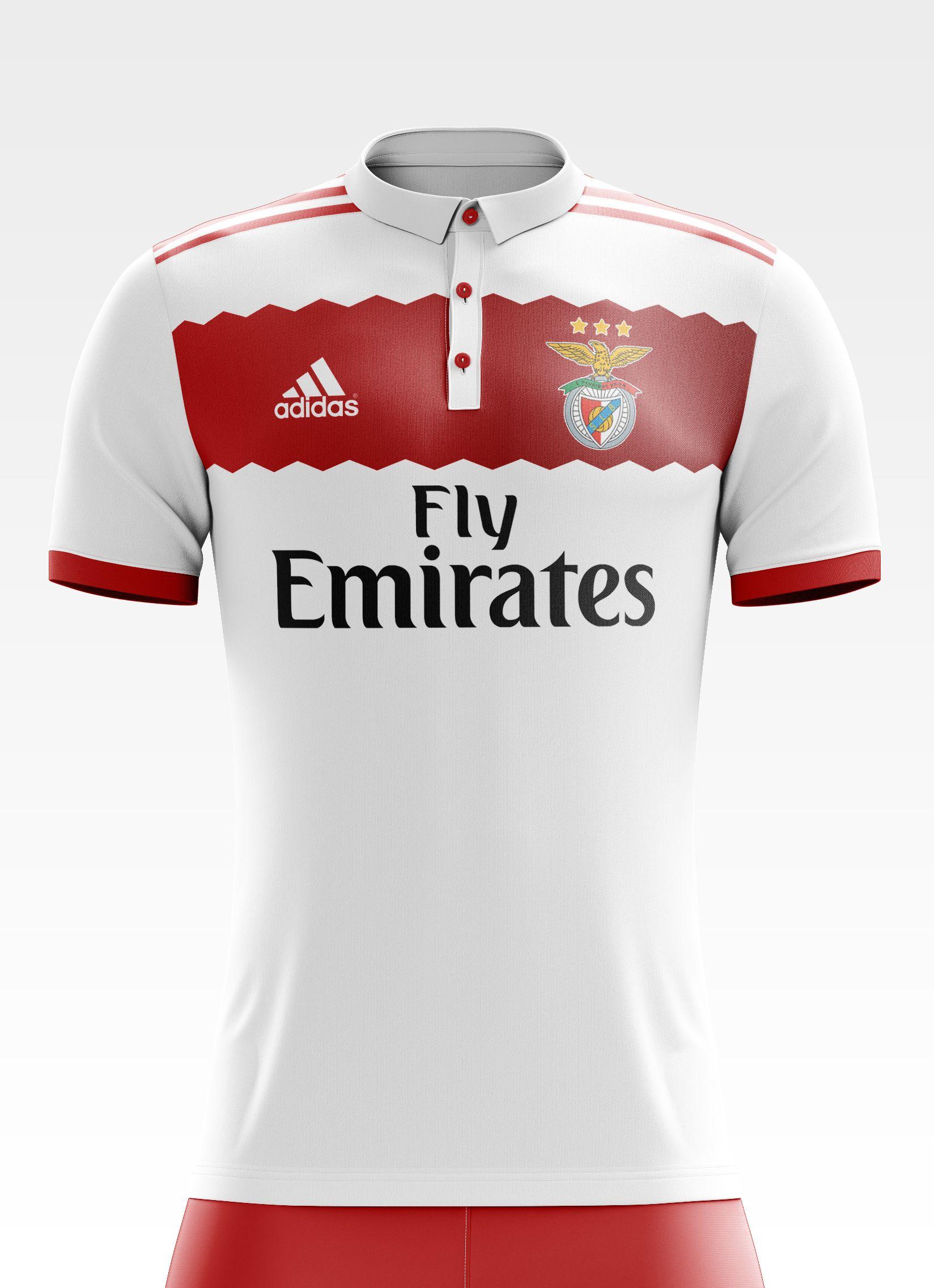 Football com category football kits image sl benfica 1st kit - I Designed Football Kits For Sl Benfica For The Upcoming Season 17 18