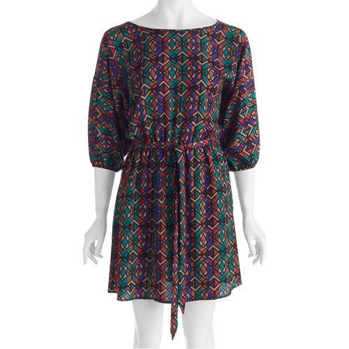 Walmart surprises - Miss Tina Women's Tie Waist Dolman Sleeve Dress $18.94