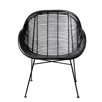 Bloomingville Braided Rattan Barrel Chair