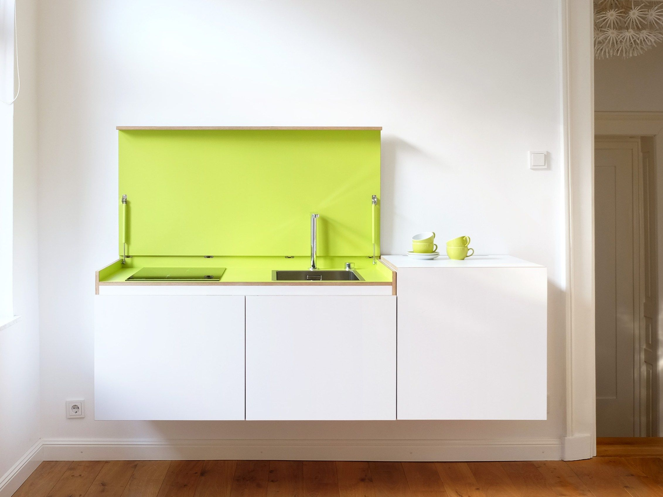 Modular plywood mini kitchen MINIKI by miniki design Tobias ...