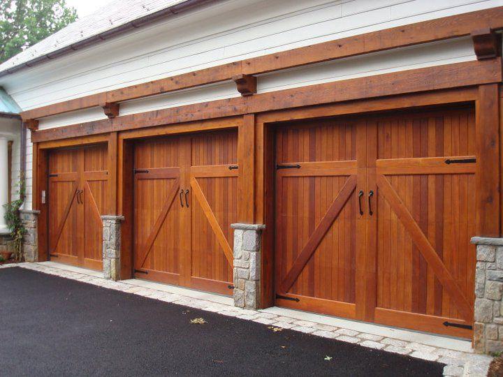 Mahogany Garage Doors Www Wood Garage Doors Com Garage Door Design Wooden Garage Doors Garage Doors