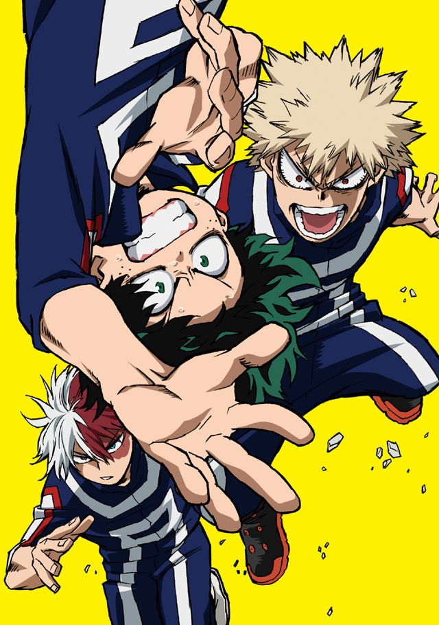 """""""My Hero Academia"""" Returns To Fantasy Action With Event"""