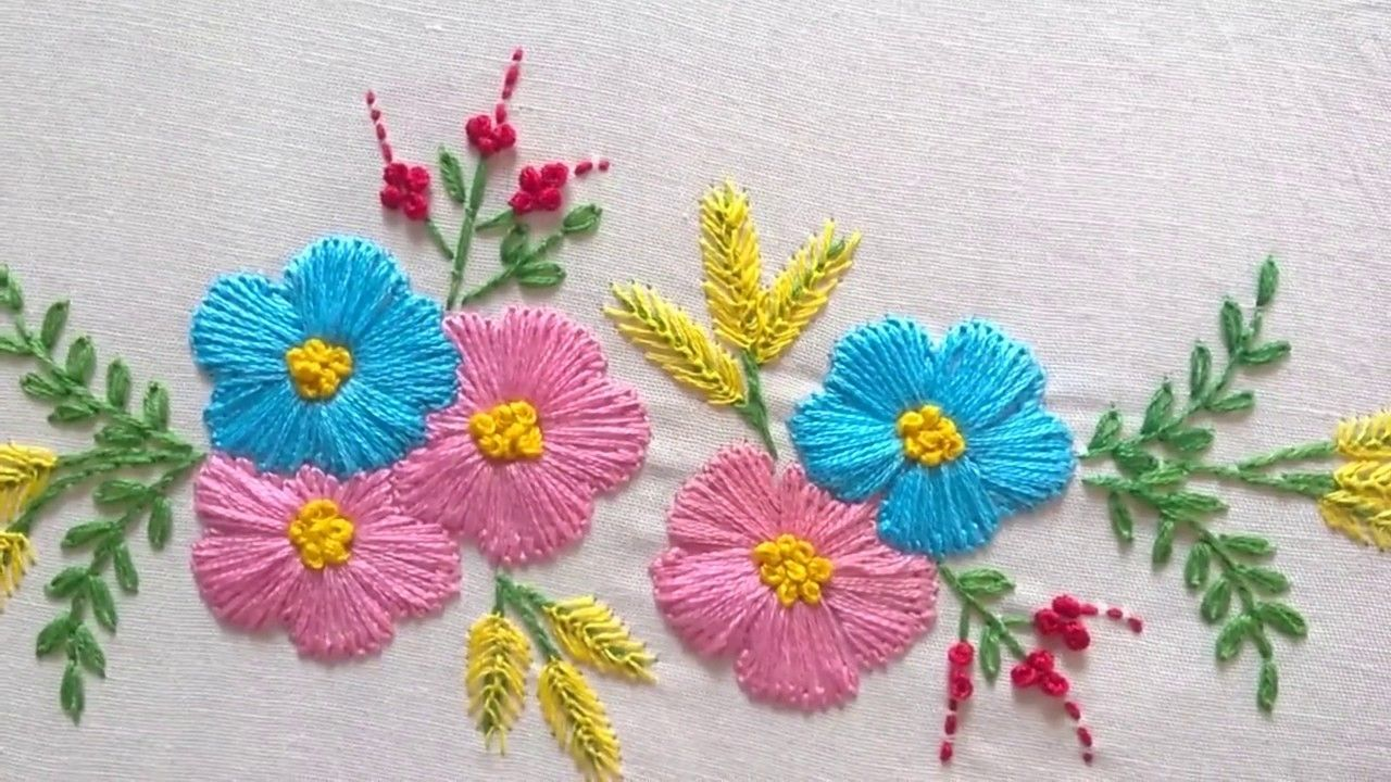 10 Exhilarating Beautiful Japanese Embroidery Ideas Hand Embroidery Designs Embroidery Stitches Tutorial Hand Embroidery Flowers