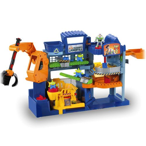 Disney Pixar Monsters University 3 Piece Room In A Box: Play-toy Imaginext Toy Story
