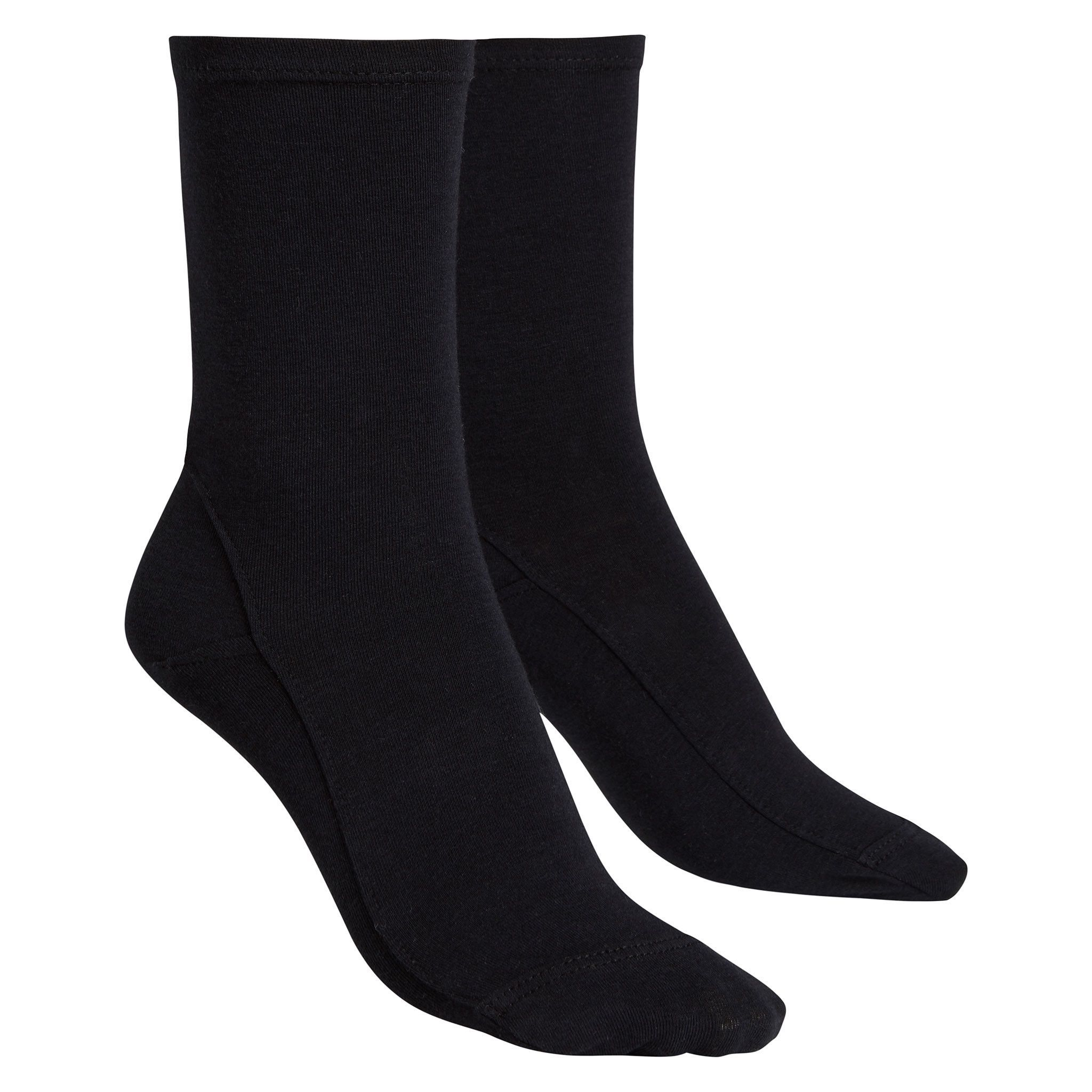 Opaque Bamboo-Cotton Socks