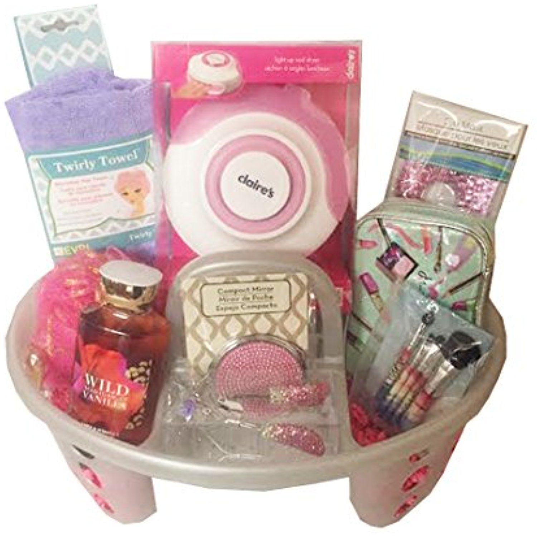 MakeupBrushesTools Beauty gift basket, Makeup bag