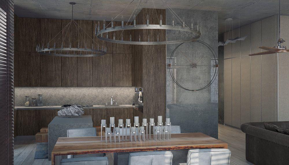 3 Concrete Lofts With Wide Open Floor Plans | Open Floor, Concrete And Lofts