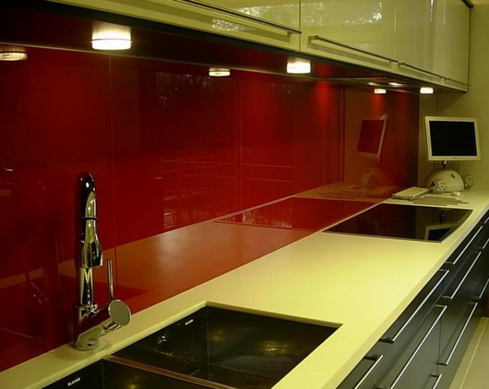 Schienale cucina in vetro per cucinare pinterest - Schienale cucina in vetro temperato ...