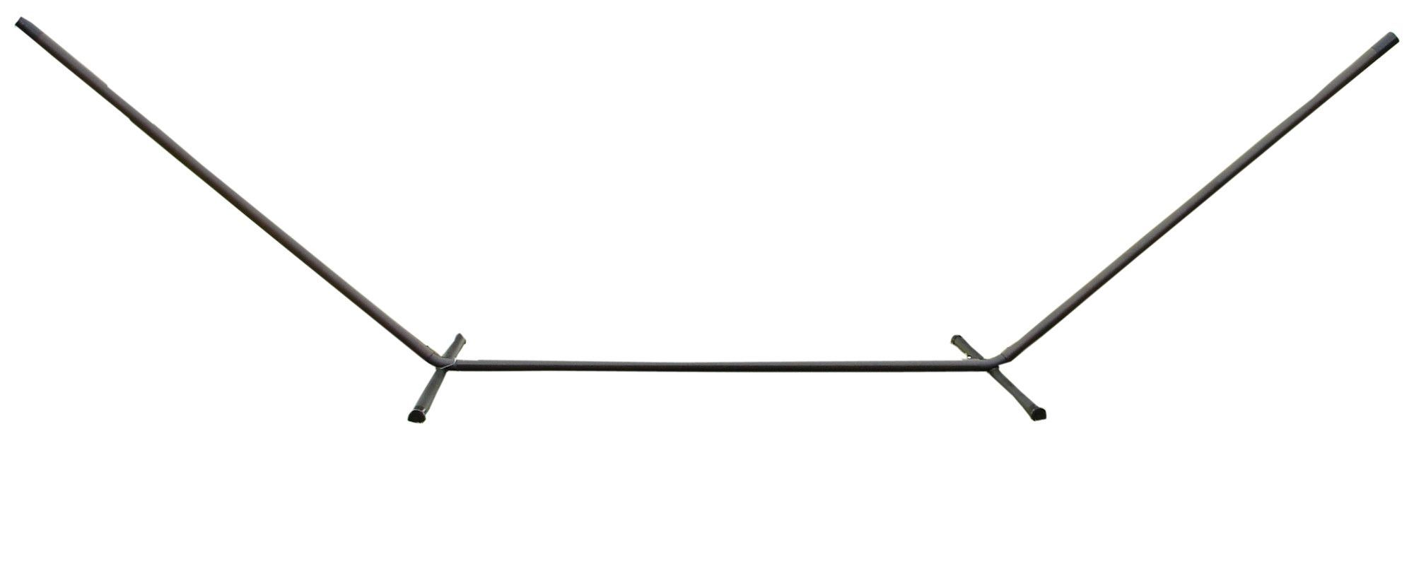 metal dfohome aluminum on xx hammock alsttp heavy small taupe stand sale arc duty edit