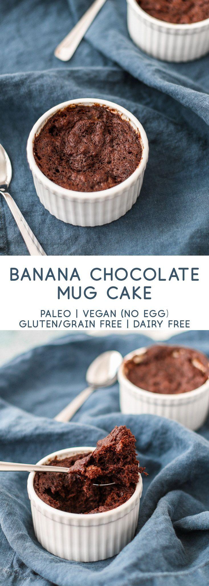 banana chocolate mug cake | tasty seasons | Recipe | Vegan ...