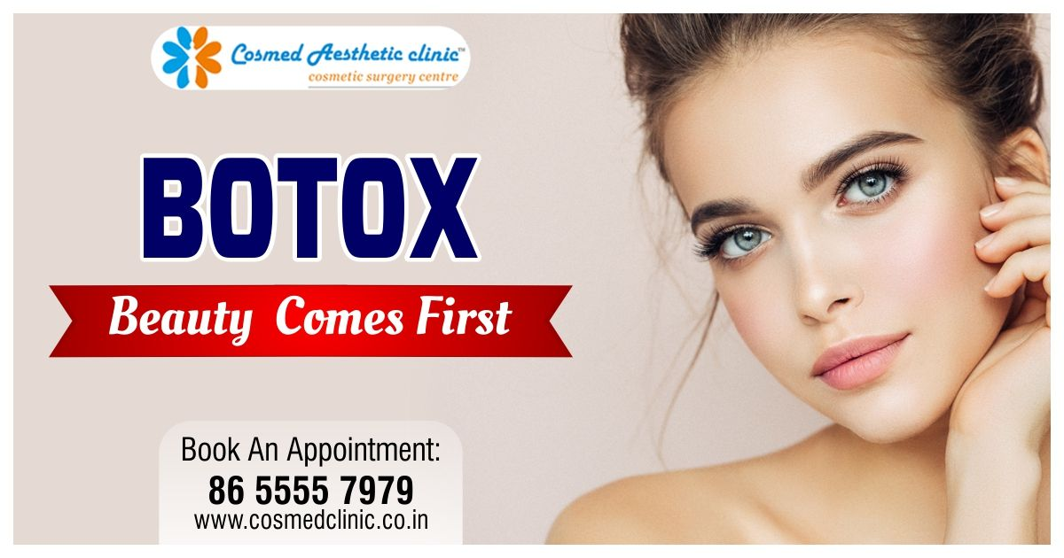 If Beauty is Your PRIORITY !! Try BOTOX at Dr Rajat