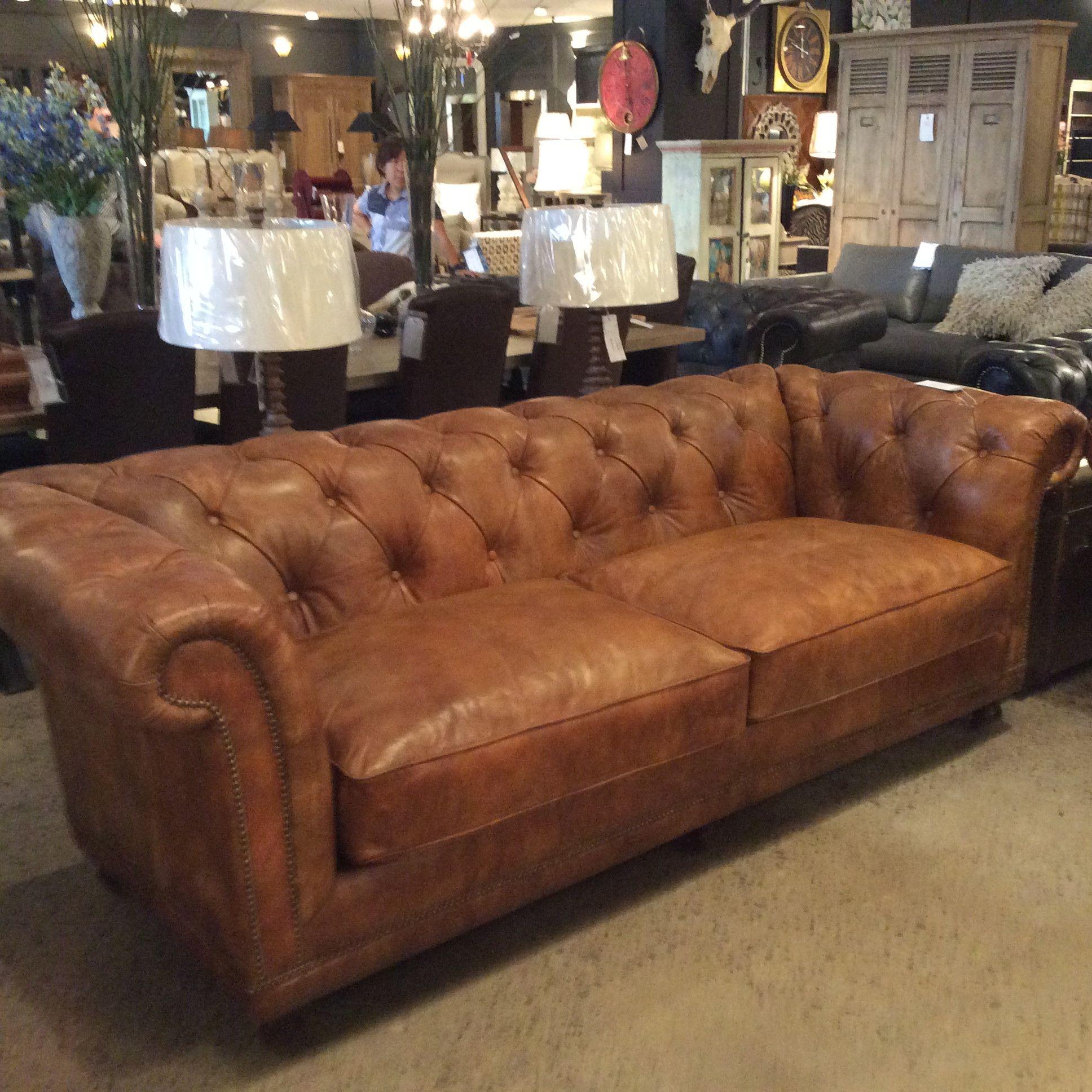 Boston Leather Sofa | Cornerstone Home Interiors $4k