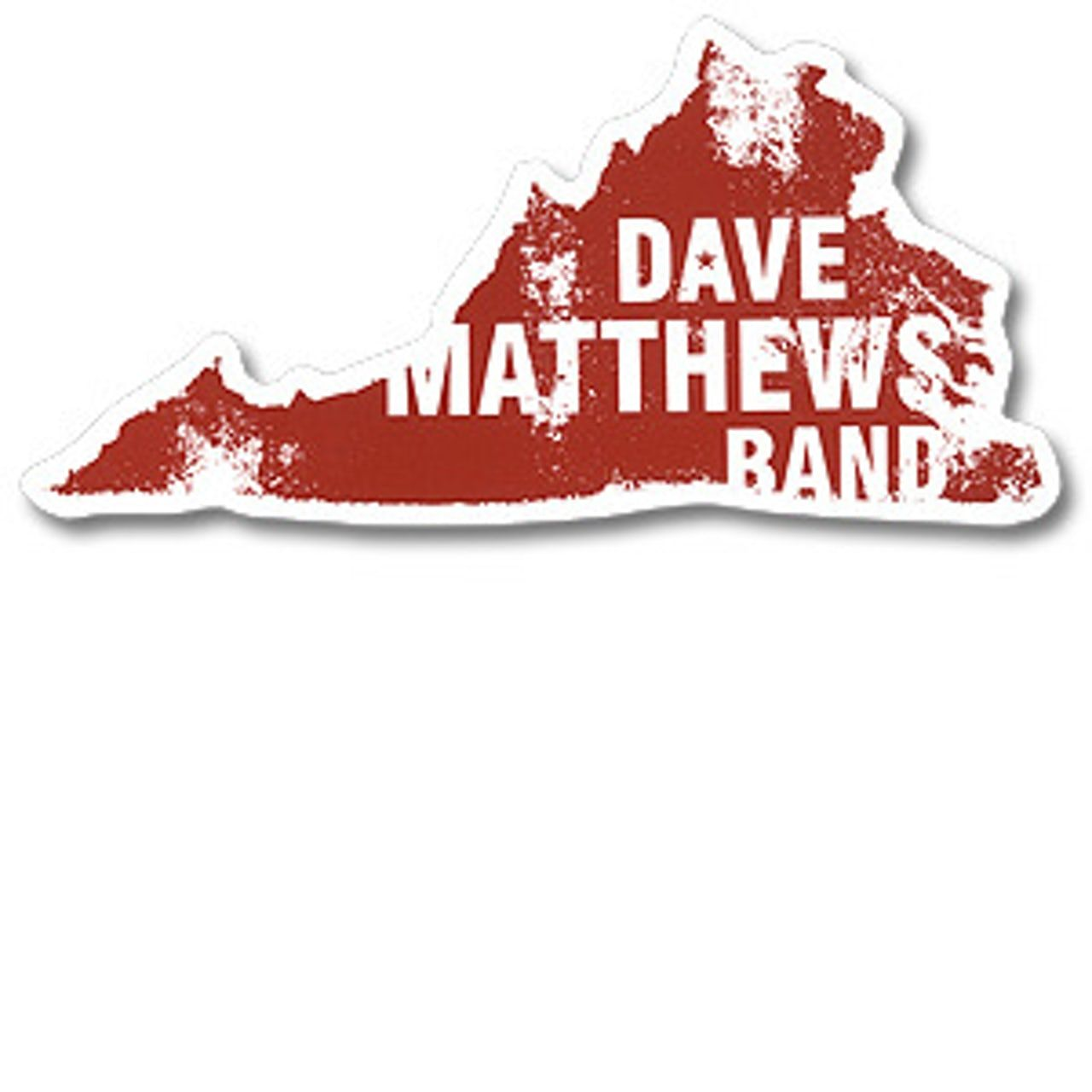 Dave Matthews Band Virginia Sticker Dave matthews band
