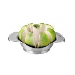 Cortador de Manzanas - Estupendo cortador de manzanas y frutas similares en un sólo segundo.