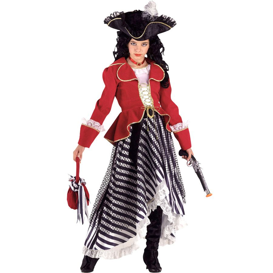 Déguisement de captain morgan pour pirate girl chic et chipie !  Annikids