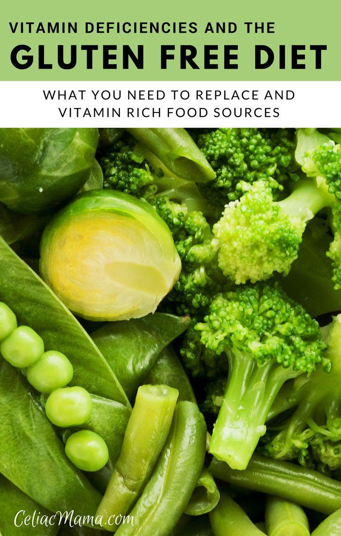 Vitamin Deficiencies & The Gluten Free Diet | Celiac ...