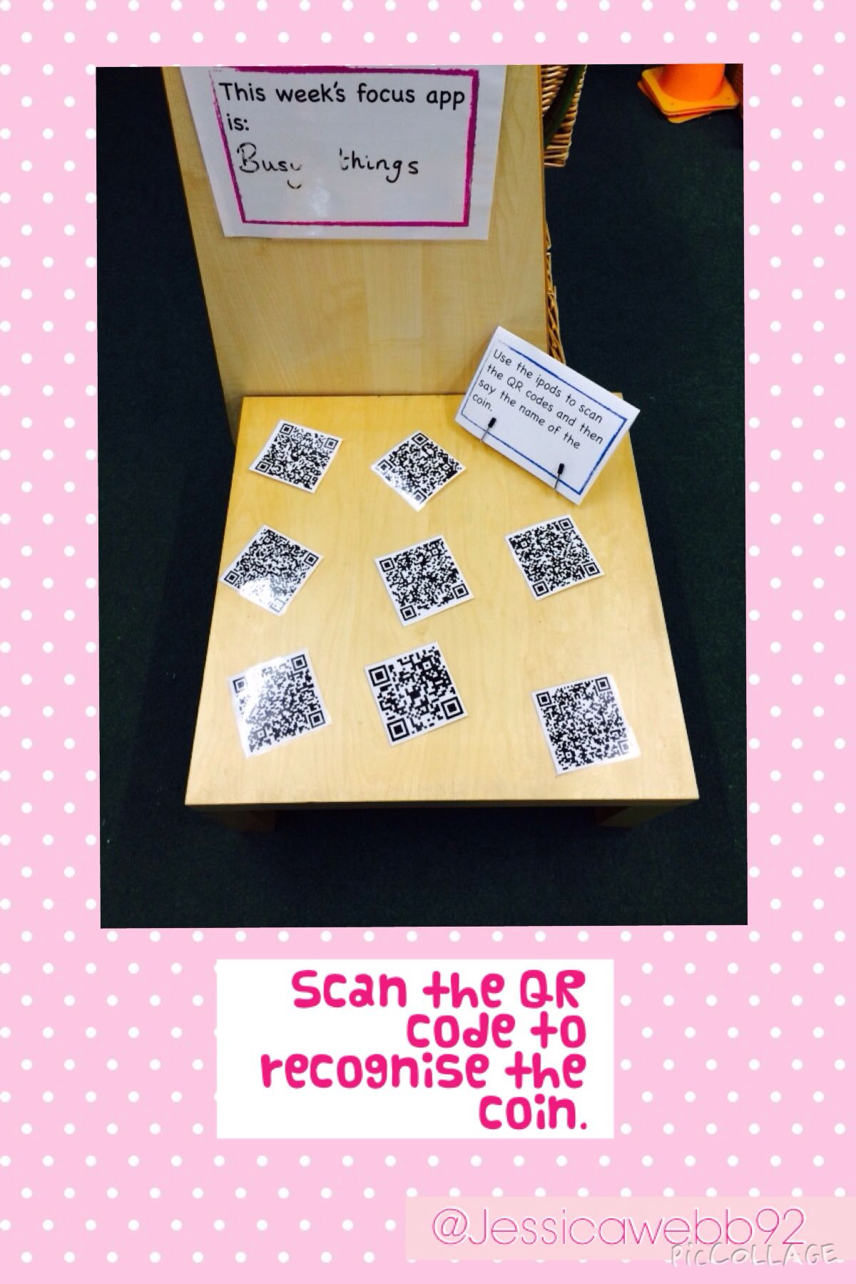 Scan The Qr Code And Recognise The Coin Eyfs