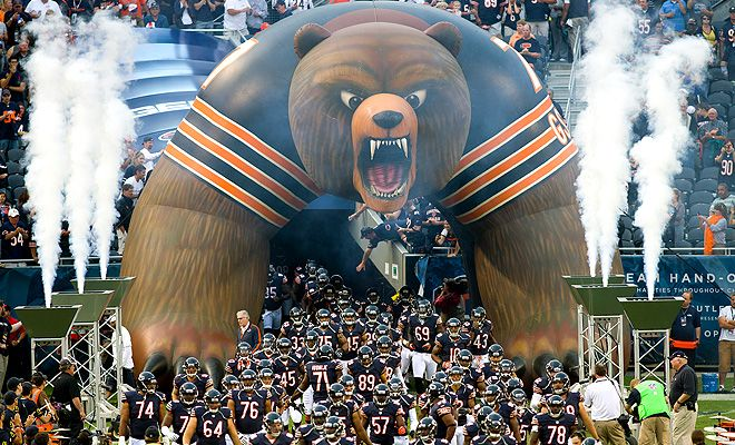 Chicago Bears Gameday Chicago Bears Chicago Bears Football Nfl Chicago Bears