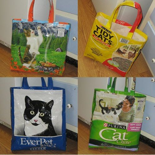 Etsy Sellers Get Creative With Recycled Cat Food Packaging Cat