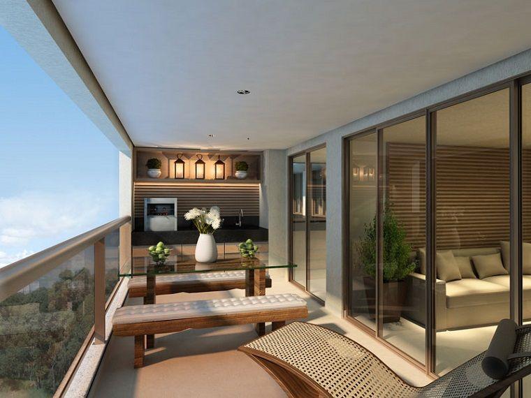 Decoracion De Balcones Y Terrazas Pequeñas 99 Ideas