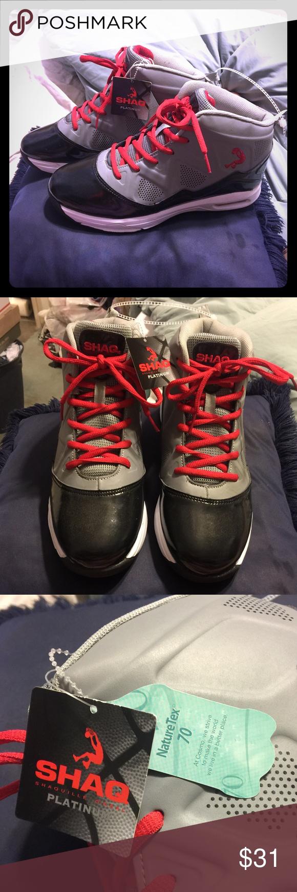 brand new shaq basketball shoes nwt my posh picks pinterest rh pinterest com