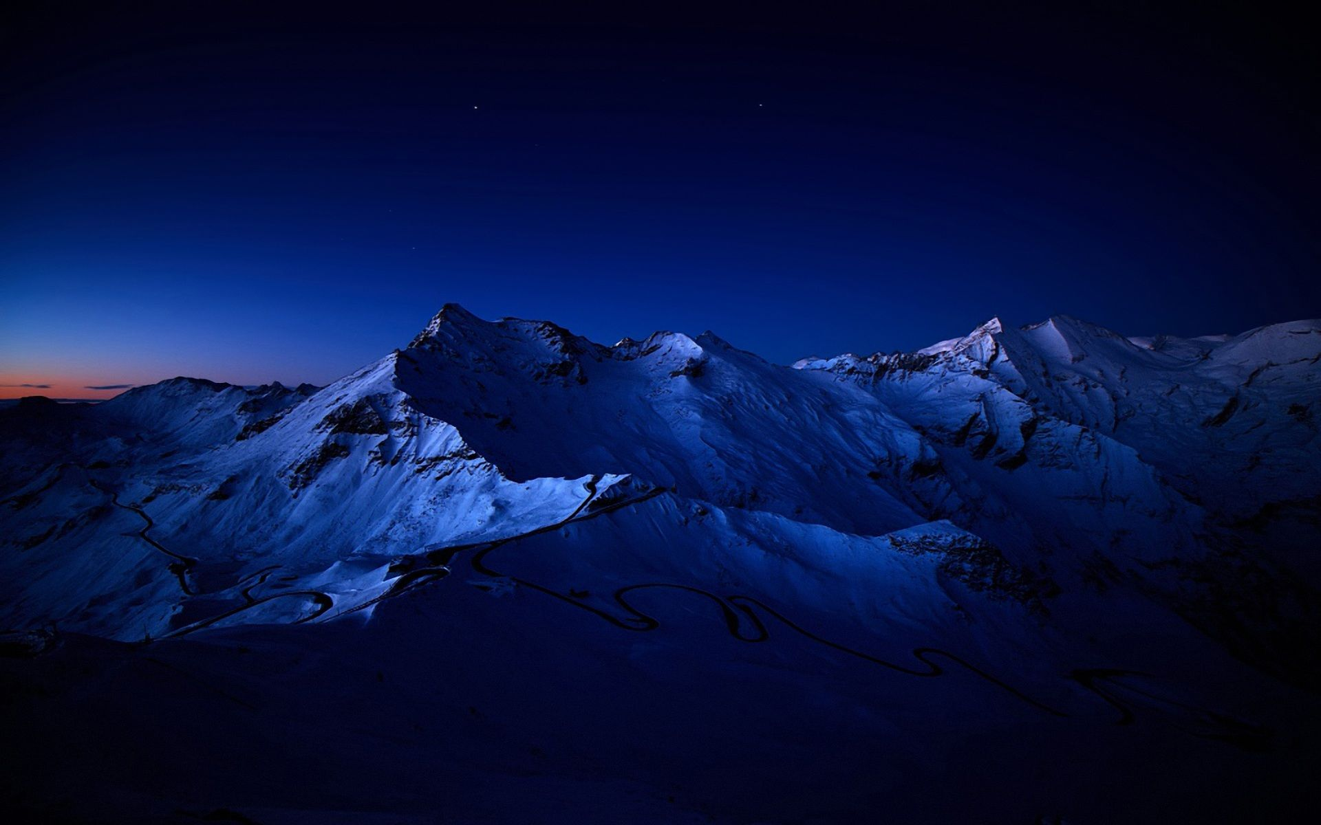 Night Mountain Wallpaper Hd Wallpapers Backgrounds Images Art Photos Mountains At Night Mountain Pictures Mountain Wallpaper