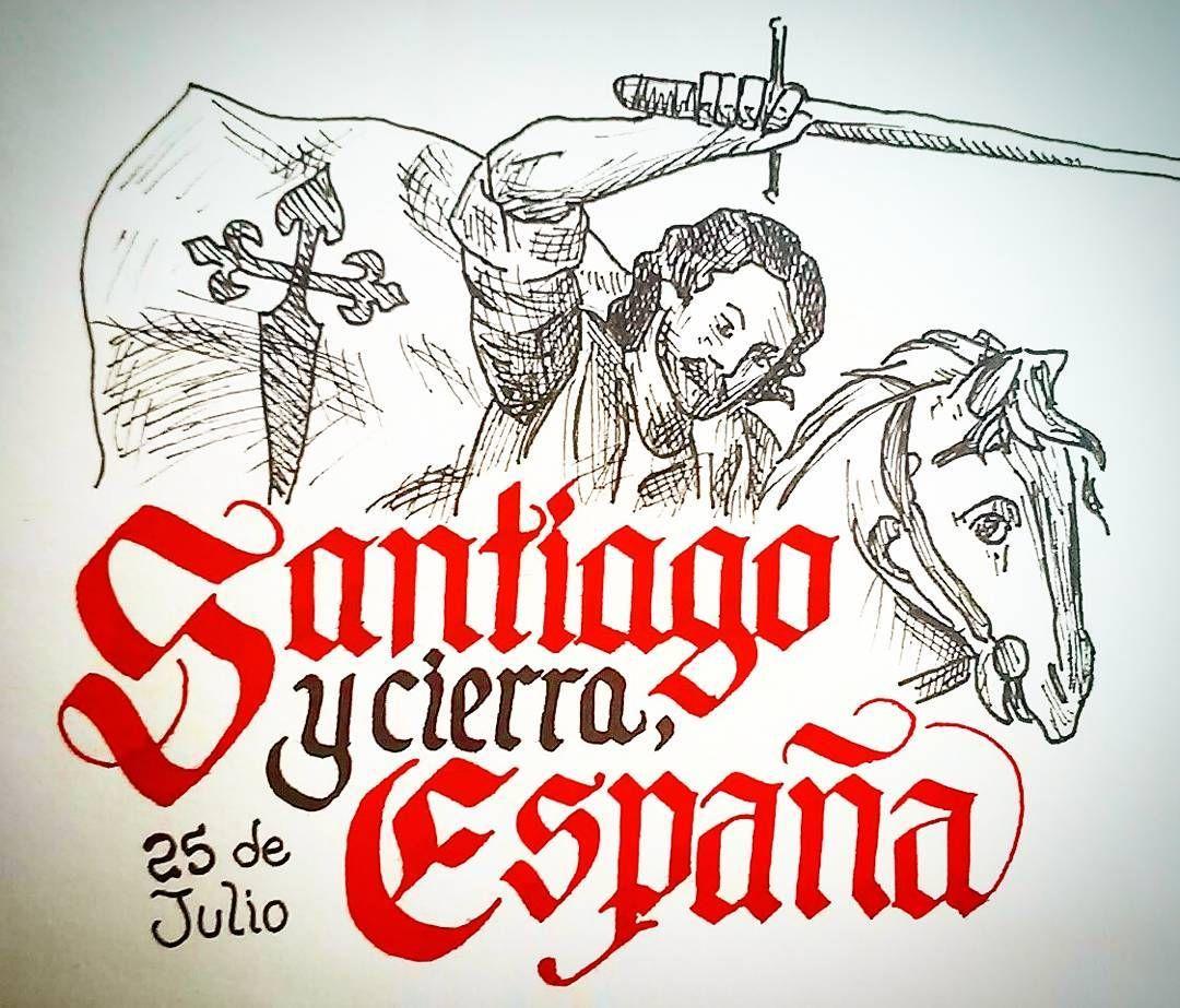 25 De Julio Dia De Santiago Estatambienesmibandera Espana Galicia Santiago Instagram Posts Instagram Martinez