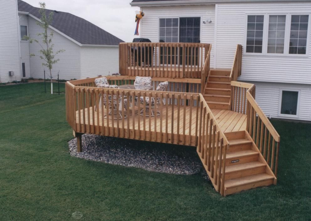 The Complete Guide About Multi Level Decks with 27 Design ... on 2 Level Backyard Ideas id=17530
