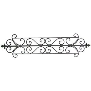 Charmant Visually Enhance Any Wall Space Of Your Choosing With This Black Metal  Scroll Wall Decor.