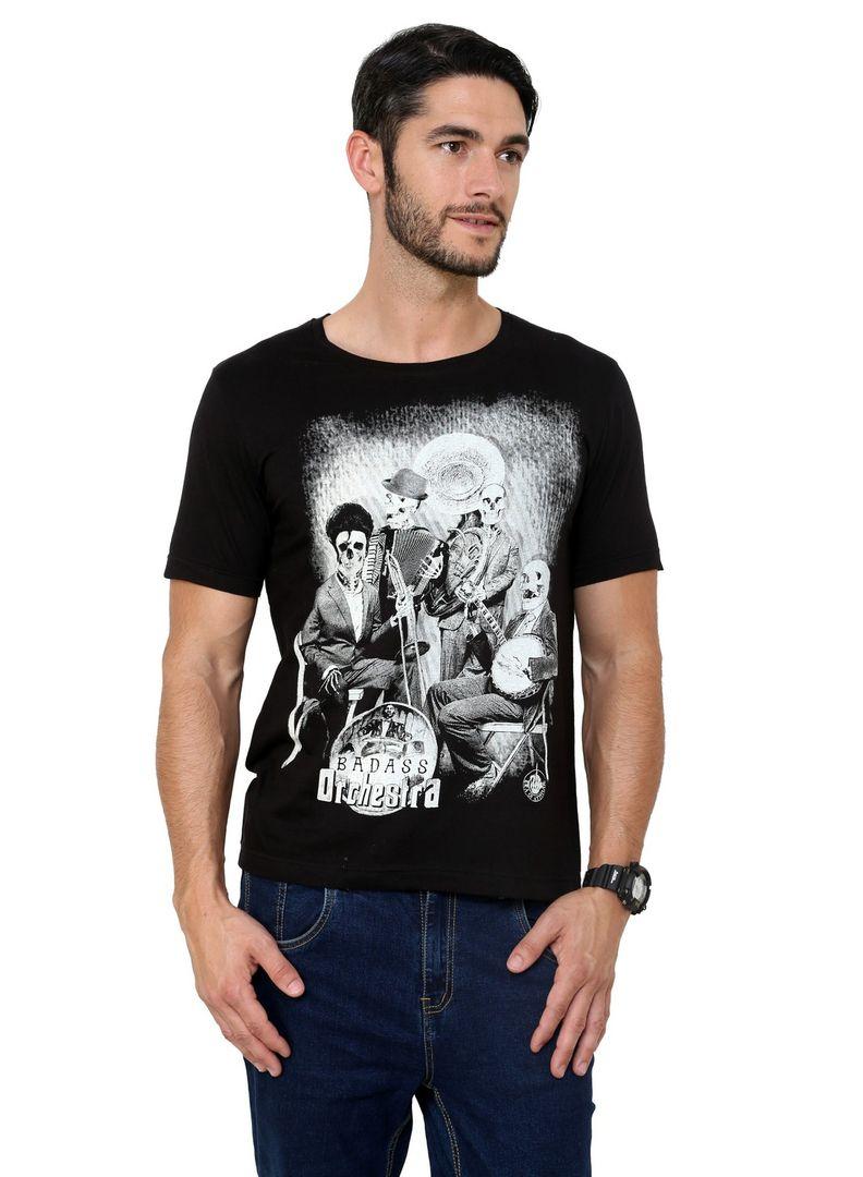 Black t shirt jabong - Mens Stunning Black Henley S T Shirt