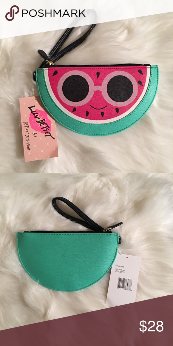 Luv Betsey Johnson Coin Purse Wristlet Various Styles